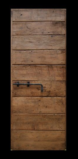 Porta rustica riprodotta