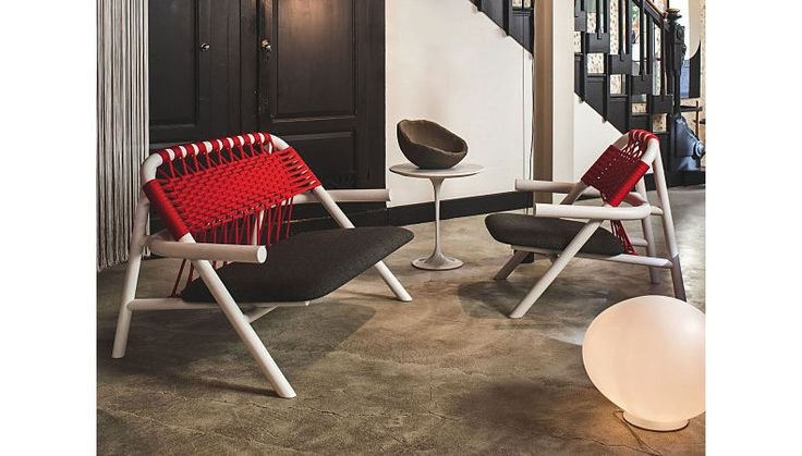 UNAM SOFA & chairs, indoor / outdoor by VERY WOOD  Haute Living (Chicago