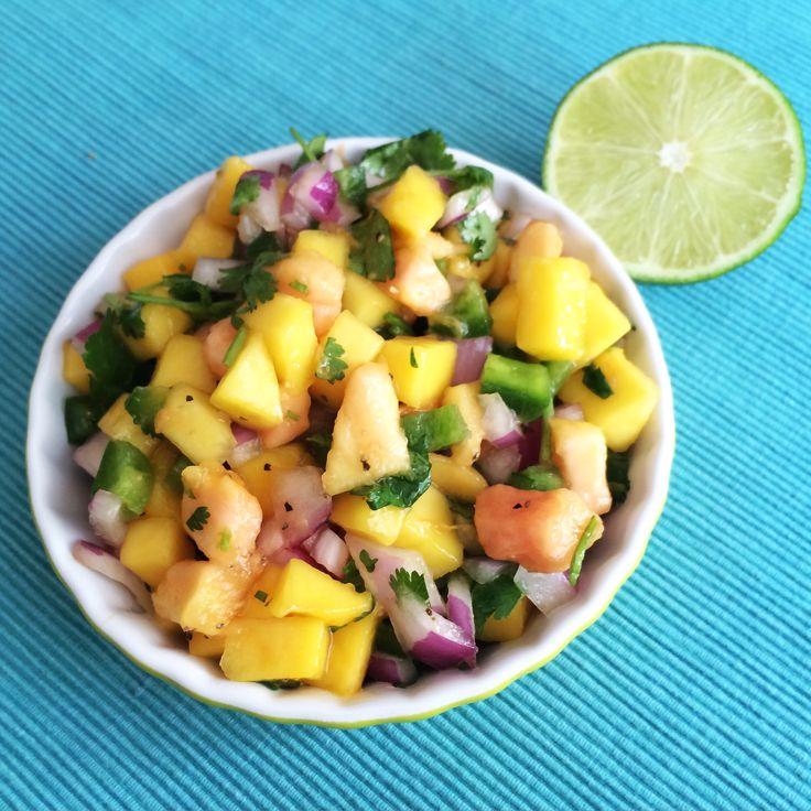 Papaya Salsa #papaya #eatseasonably
