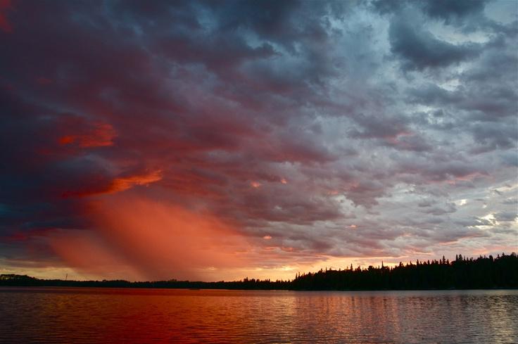 "Rain showers over Garden Hill, Manitoba. 500px / Photo ""Rain Showers over Garden Hill"" by Steve McDougall"