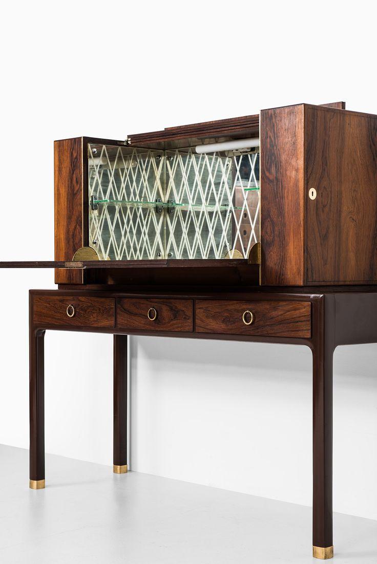 Ernst Kühn bar cabinet in rosewood at Studio Schalling