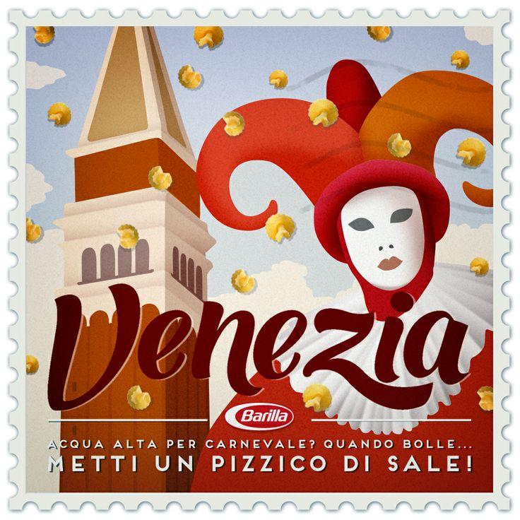Acqua alta per #Carnevale? Quando bolle...Metti un pizzico di sale! #cèpastaperte #Venezia