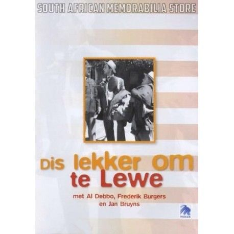 Dis Lekker Om Te Lewe - Al Debbo - South African DVD *New* - South African Memorabilia Store