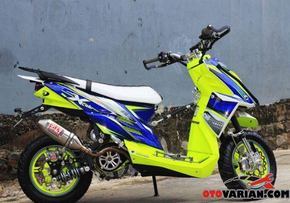 Modifikasi Yamaha X Ride Touring Untuk Anda Yang Sudah Merasa
