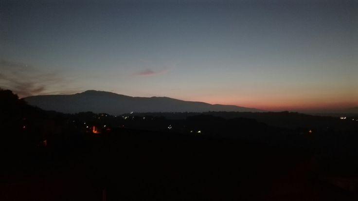 O ppe' la majell #buonasera #majella #abruzzo #tramonti