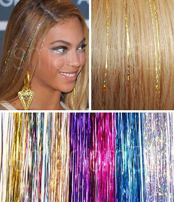 EDC Hair Tinsel rave music festival hair accessory hair