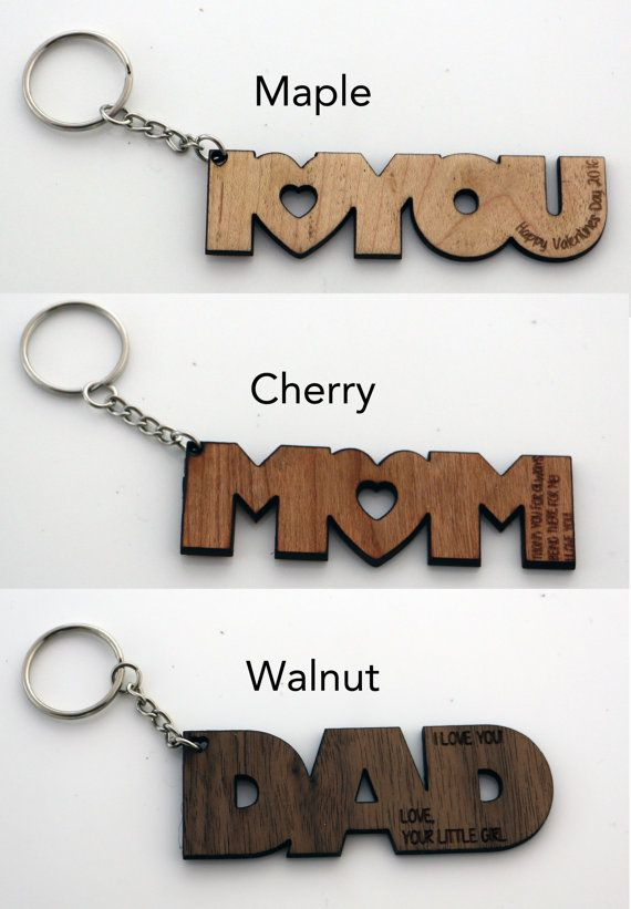 Personalized Dad Key Chain Keyring for Dad by Shop231Designs