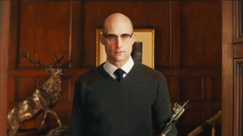 Merlin | Kingsman | Merlin kingsman, Kingsman und Mark strong