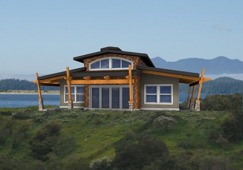 1000 ideas about post and beam kits on pinterest house for Kit homes alaska
