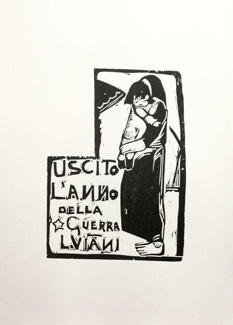 mostra: L'urlo dell'immagine. La grafica dell'Espressionismo italiano. Lorenzo Viani, Il marito lontano