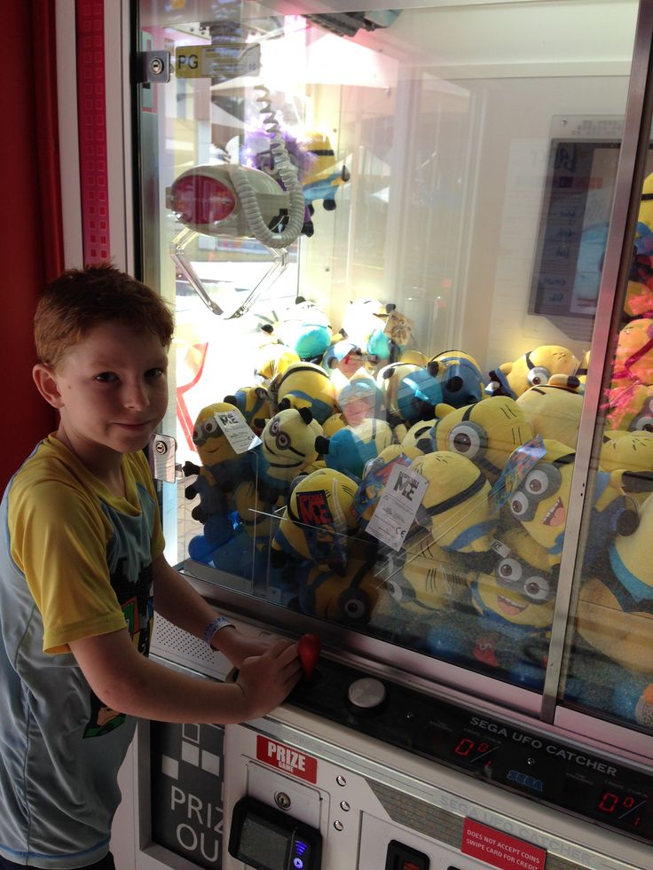I have a feeling this might be Aunty Wendy's favourite machine EVER! #minions