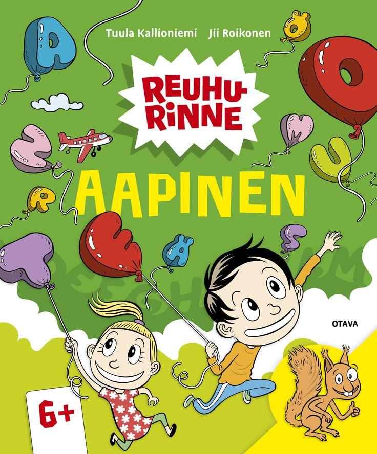 Title: Reuhurinne Aapinen | Author: Tuula Kallioniemi | Designer: Jii Roikonen, Päivi Puustinen