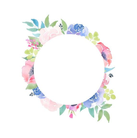 Floral Frame Clipart Flower Arrangement Pre Made Invites Summer Flowers Pink Blue Roses Clip Art Downloadable Wedding Invitations Png Em 2021 Convite De Casamento Imagens Fofas Estampas