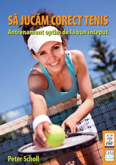 ,,Să jucăm corect tenis''- cartea care oferă paşii de bază pentru a atinge nivelul dorit, fie că vorbim de pasiune şi relaxare sau de realizarea unor performanţe în acest îndrăgit sport. Descoperă cum se efectueză corect jocul pe linia de fund, la fileu, serviciul şi returul, plus o serie de sugestii care duc la un meci cu final reuşit. #EdituraCasa #Sport #Tenis #Pasionatidetenis