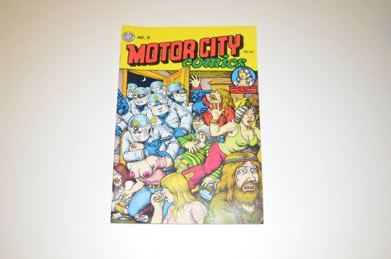 1991 Motor City Comics, R. Crumb,  2.50 cover price, Last Gasp Comics, Adult, Underground Comic