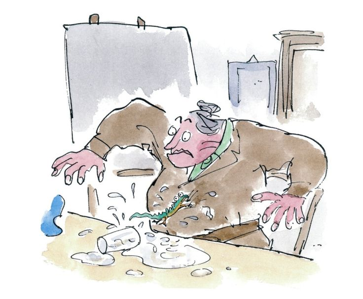 the patterns of tragedy in the art work of roald dahl Roald dahl is widely acknowledged as one of the greatest ever children's writers   roald dahl at work in the shed of his home in buckinghamshire, 1983 credit:   i was met by jimmy bodrero, walt's number one artist, and taken to the  as  soon as i'd finished a page, it was typed out in the pattern they.