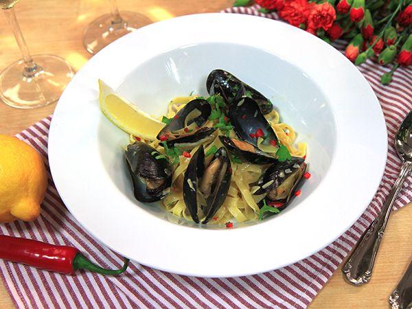 Pasta marinière | Recept från Köket.se