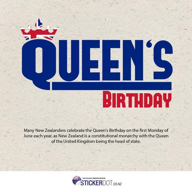 #QueensBirthday #QueensDay #NewZealander #Kiwis #Kiwi #NZ #Auckland #NewZealand #StickerDot