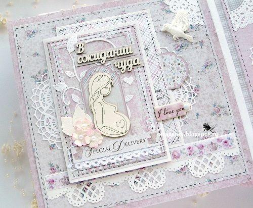 Baby album Детский альбом для девочки Скрапбукинг