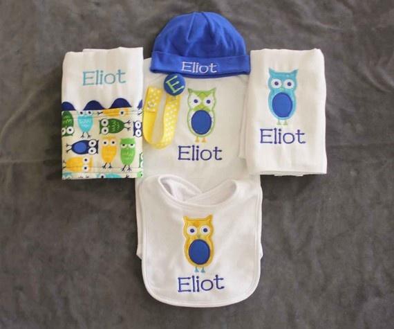 monogrammed clothing baby Pinterest