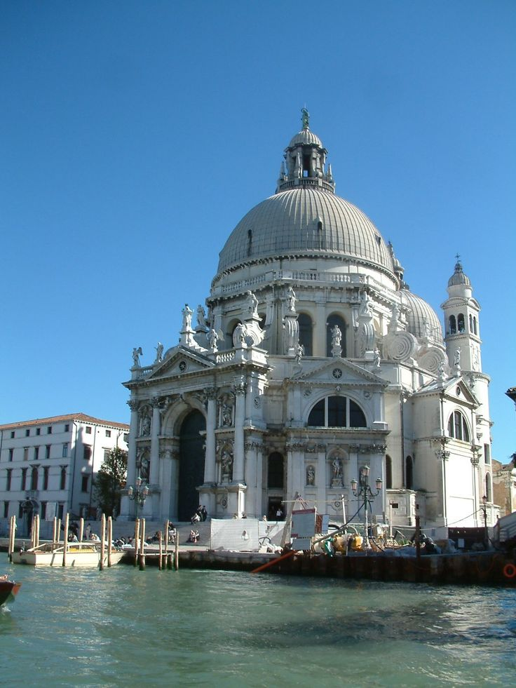 Balthassare Longhena kościół Santa Maria delle Salute w Wenecji