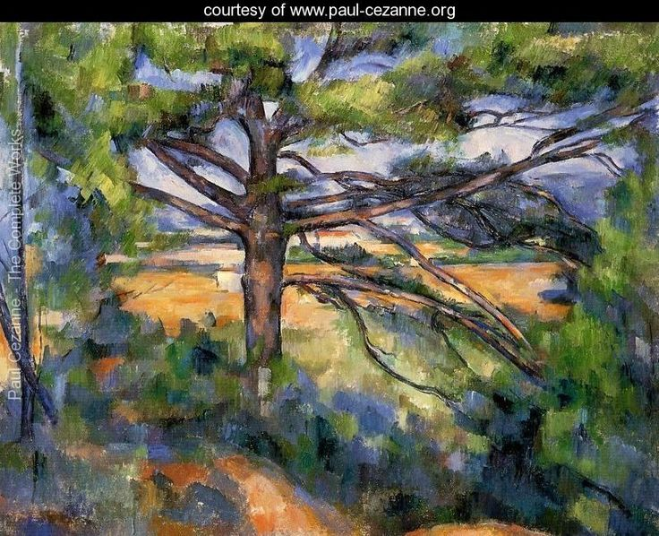 the inspiration from the painting works of cezanne And his paintings were clearly an inspiration to who said that cézanne's paintings were one of the who had traded cézanne art supplies for paintings.