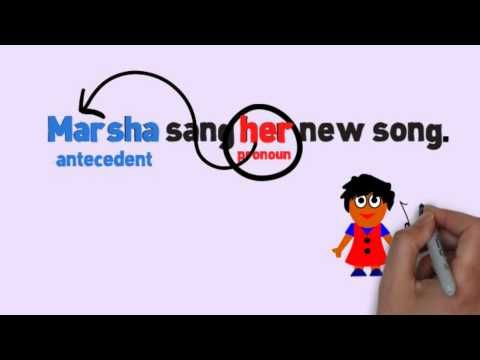 Pronouns & Antecedents Song by Melissa - YouTube