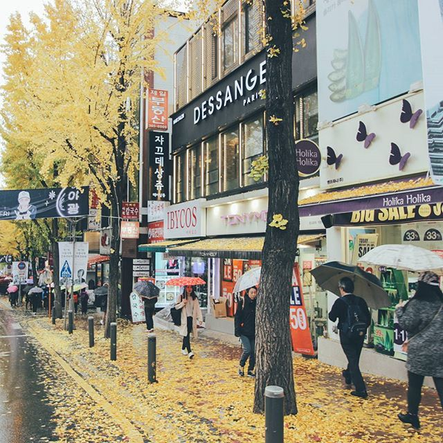 I usually hate rain, but sometimes it's pretty cool.. #Korea #korean #SouthKorea #southkorean #Seoul #seoul_korea #seoulsnap #ig_korea#vscokorea #imagineyourkorea #iseoulu #서울#한국