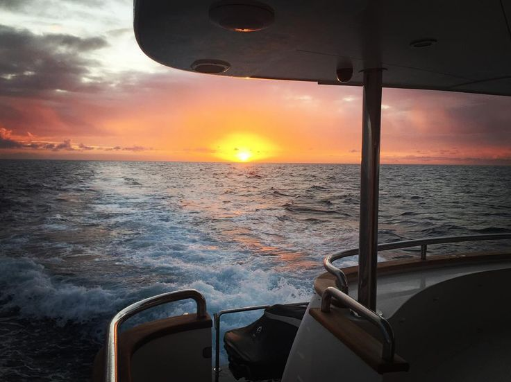 Days from land boats and people. Never will you feel so free in the open ocean watching the sun setting over the horizon. by theyachtchef