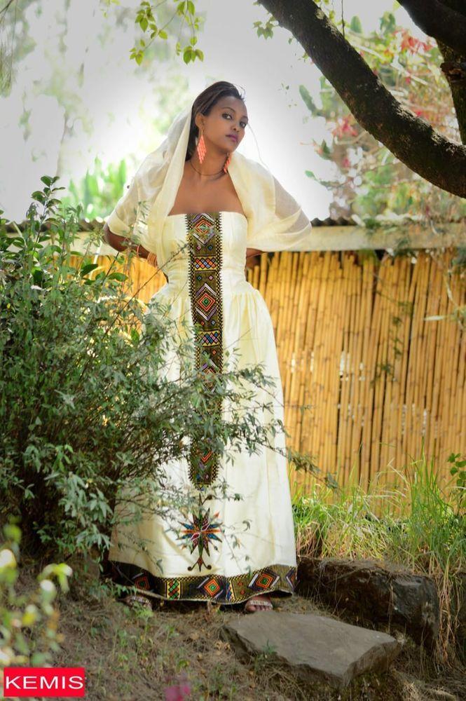 39 best habesha kemis ethiopian traditional clothes for Habesha dress for wedding