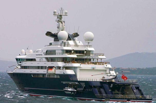 Super Yacht OCTOPUS £130 million