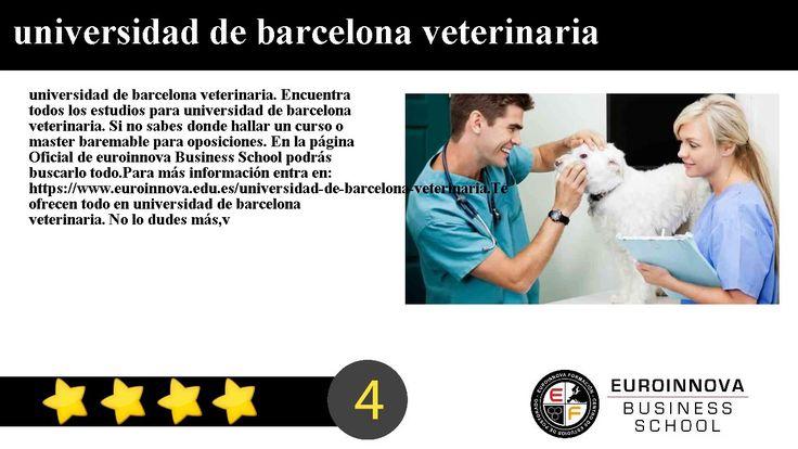 universidad de barcelona veterinaria - universidad de barcelona veterinaria. Encuentra todos los estudios para universidad de barcelona veterinaria. Si no sabes donde hallar un master o curso homologado. En la página Oficial de Euroinnova formación encontrarás todo.    ver mas información en: https://www.euroinnova.edu.es/universidad-de-barcelona-veterinaria.    Te ofrecen todo en universidad de barcelona veterinaria. No lo dudes másentra y usa nuestro buscador con el que encontrarás…