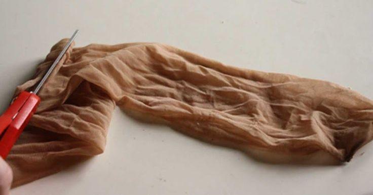 DIY: ΜΗΝ Πετάτε Τα Σχισμένα ή Τρύπια Καλσόν Σας! 14 Πανέξυπνοι Τρόποι Για Να Τα Χρησιμοποιήσετε Στο Σπίτι! -ΦΩΤΟ
