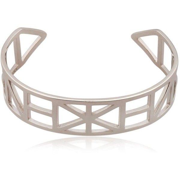 Kenzo Women Flying Kenzo Cuff Bracelet ($330) ❤ liked on Polyvore featuring jewelry, bracelets, silver, kenzo, cuff bangle bracelet, hinged cuff bracelet, kenzo jewelry and cuff bracelet