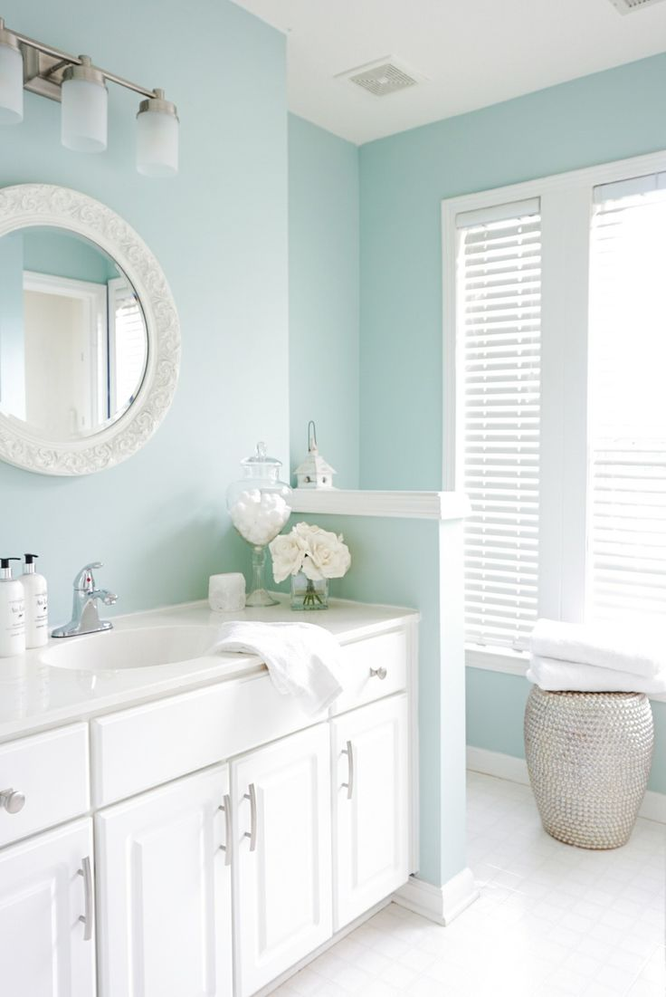 Bedroom Bathroom Colors sherwin williams-rainwashed. i want to use this color for a master