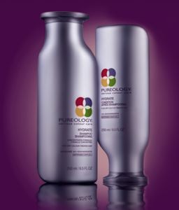 Pureology Hydrate Shampoo and Conditioner...Have used this for years. Tried others, but keep coming back. It softens my hair, moisturizes, detangles, smells great (minty), and doesn't weigh it down.