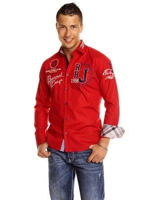 Camisa Redbridge modelo R2131 red