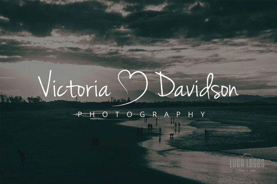 Premade Photography Vintage Logo Template Small by LucaLogos, $35.00