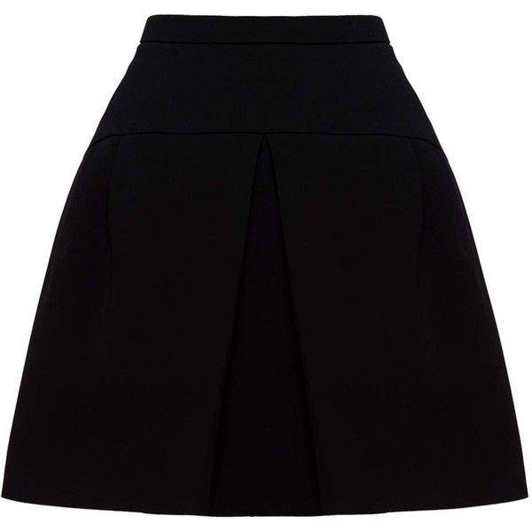 Miu Miu SKIRT ($640) ❤ liked on Polyvore featuring skirts, skater skirt, long flared skirt, miu miu, flared skirts and circle skirt