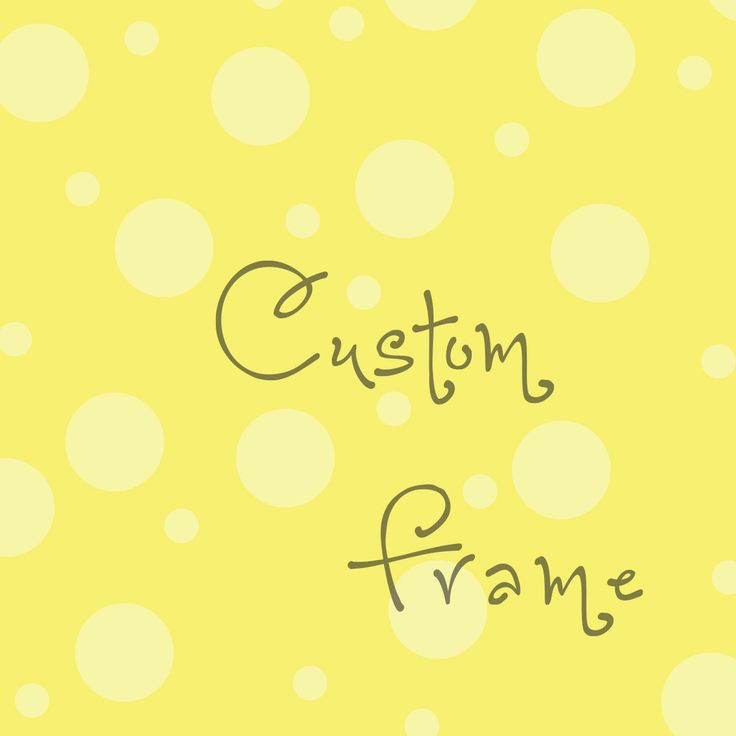 """Custom Handmade Frame, You Choose Theme, Colors, Style - 8"""" x 8"""" Scrapbooked Wooden Frame for 3.5"""" x 3.5"""" Photo by PaperDahlsLLC on Etsy"""