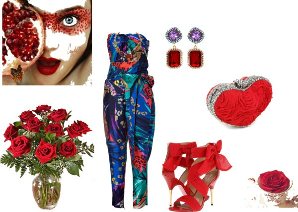 """""""Valentine day date outfit"""" by reshu-rathi ❤ liked on Polyvore"""