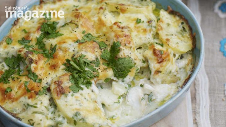 Smoky fish bake