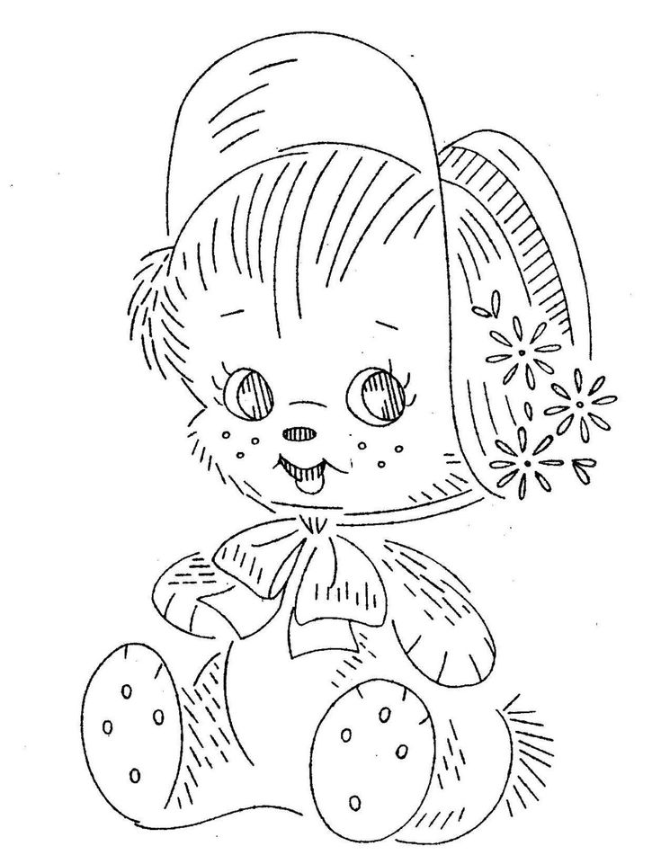 Digital Hand Embroidery Pattern Design 7090 Nine Adorable