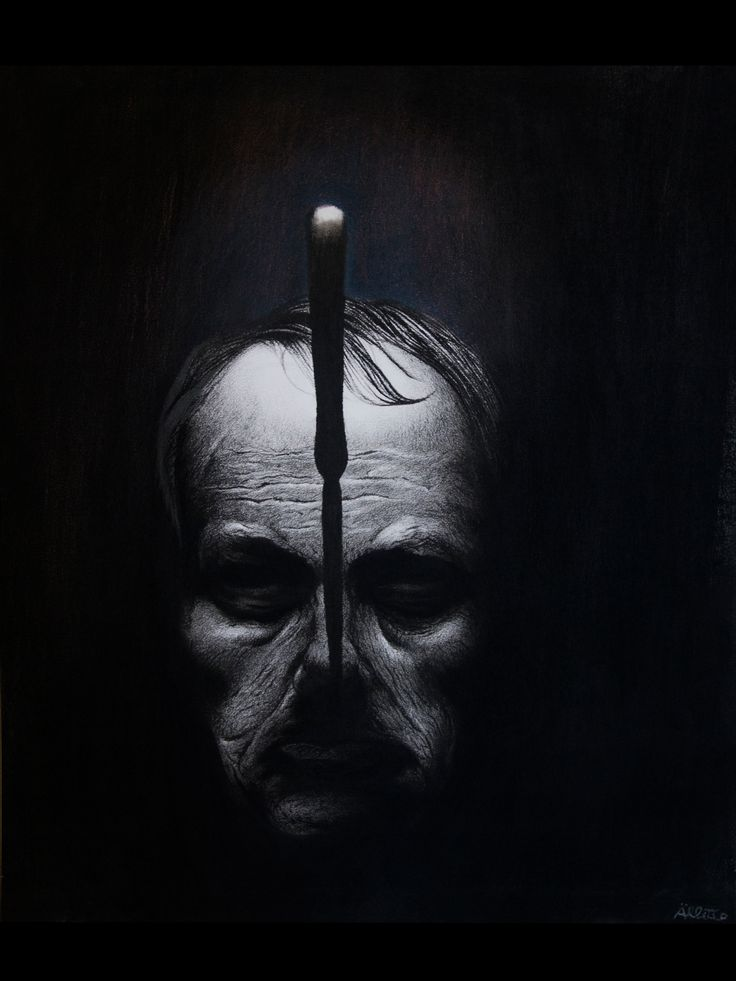 Portrait of Charles Baudelaire  (pastel and pencil on paper)