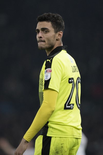 Tiago Ilori of Reading looks on during the Sky Bet Championship match between Derby County and Reading at the iPro Stadium on January 21, 2017 in Derby, England