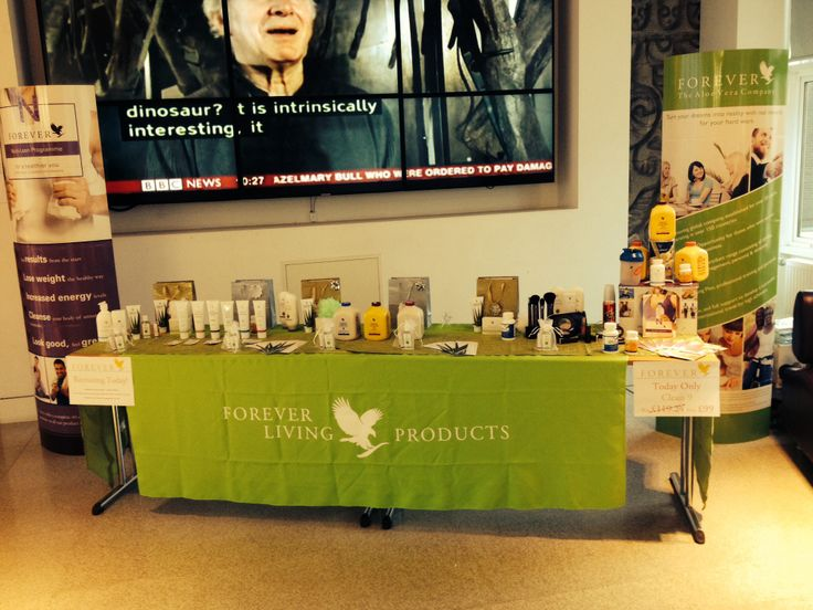 Forever living products tabletop what a success