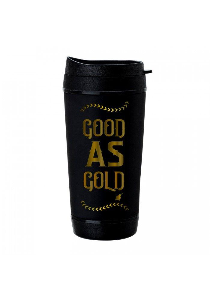 Kiwiana travel mug - good as gold