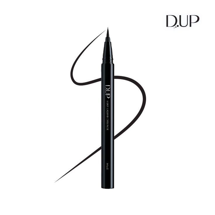 실키 리퀴드 아이라이너 블랙 D-UP Silky Liquid Eyeliner Black