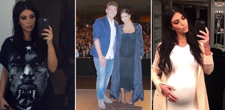 Kim Kardashian con il pancione: ecco le foto! Seconda gravidanza dell'ereditiera più nota del globo.