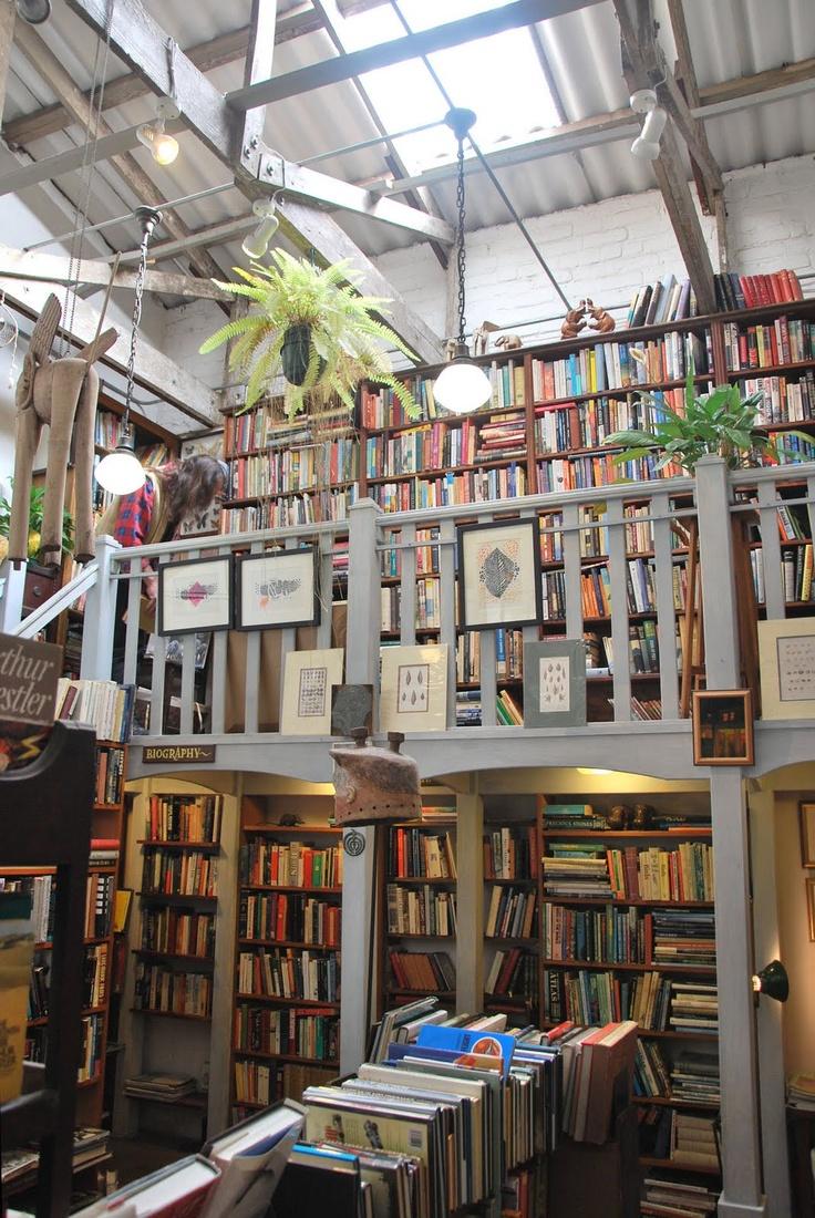 Bookshop at 44 Stanley Avenue. Photo by Paula Gruben.